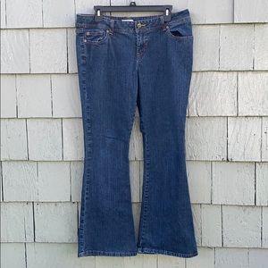 Denim - Wear it Declare it, blue jeans, bootcut,size 13